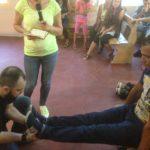 Выросла нога по молитве примерно на 1 см!